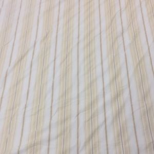 Pottery Barn Striped Duvet Full/Queen & 2 shams